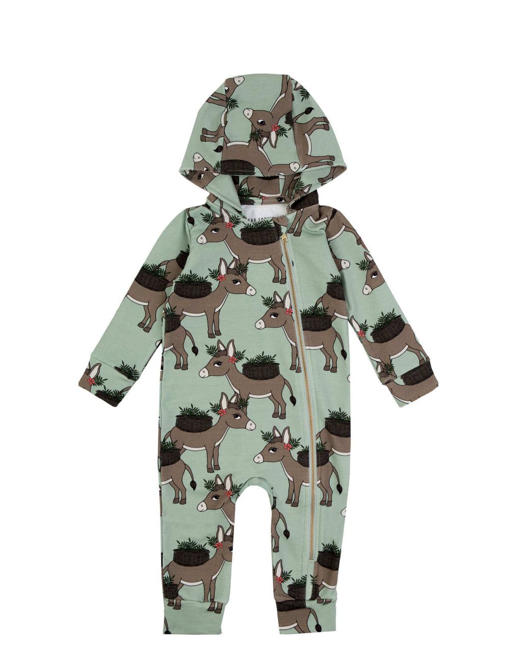 Donkey Mint Overall
