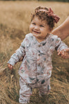Wildflower Fleece Romper
