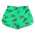 Jelly Alligator Green Shorts