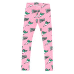 Jelly Alligator Pink Leggings