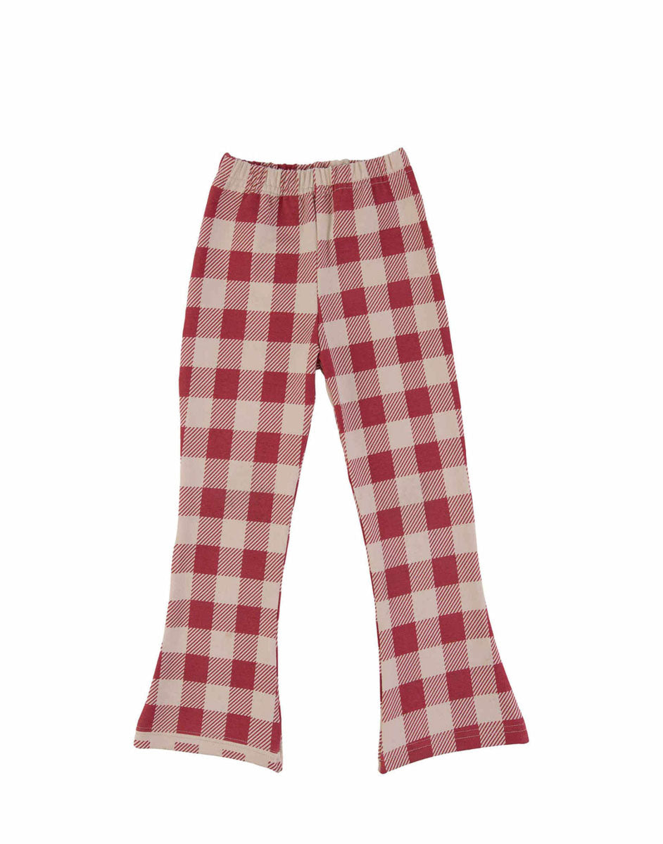 Red Checker Flares