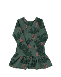Parsley Green Dress