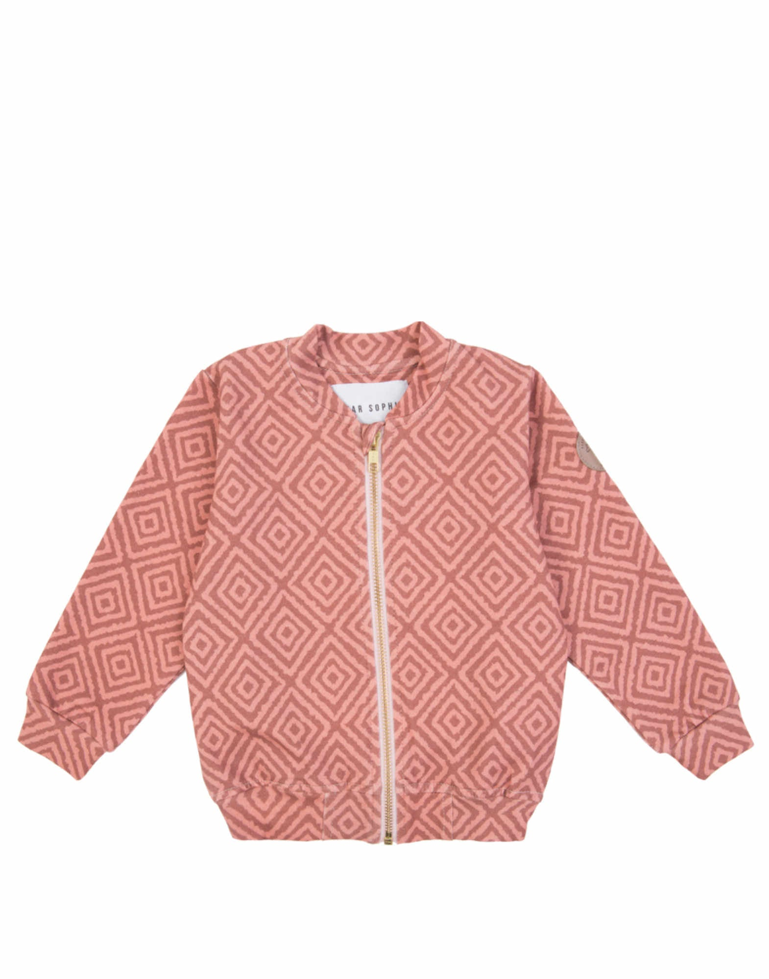 Pink Marrakesh Bomber Jacket