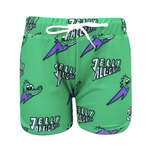 Green Alligator Swim Shorts