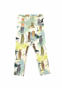 Animal Palm Baby Leggings
