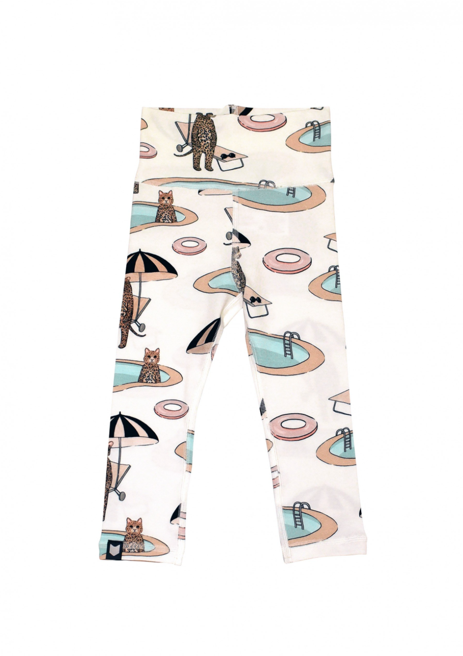 Animal Pool Baby Leggings