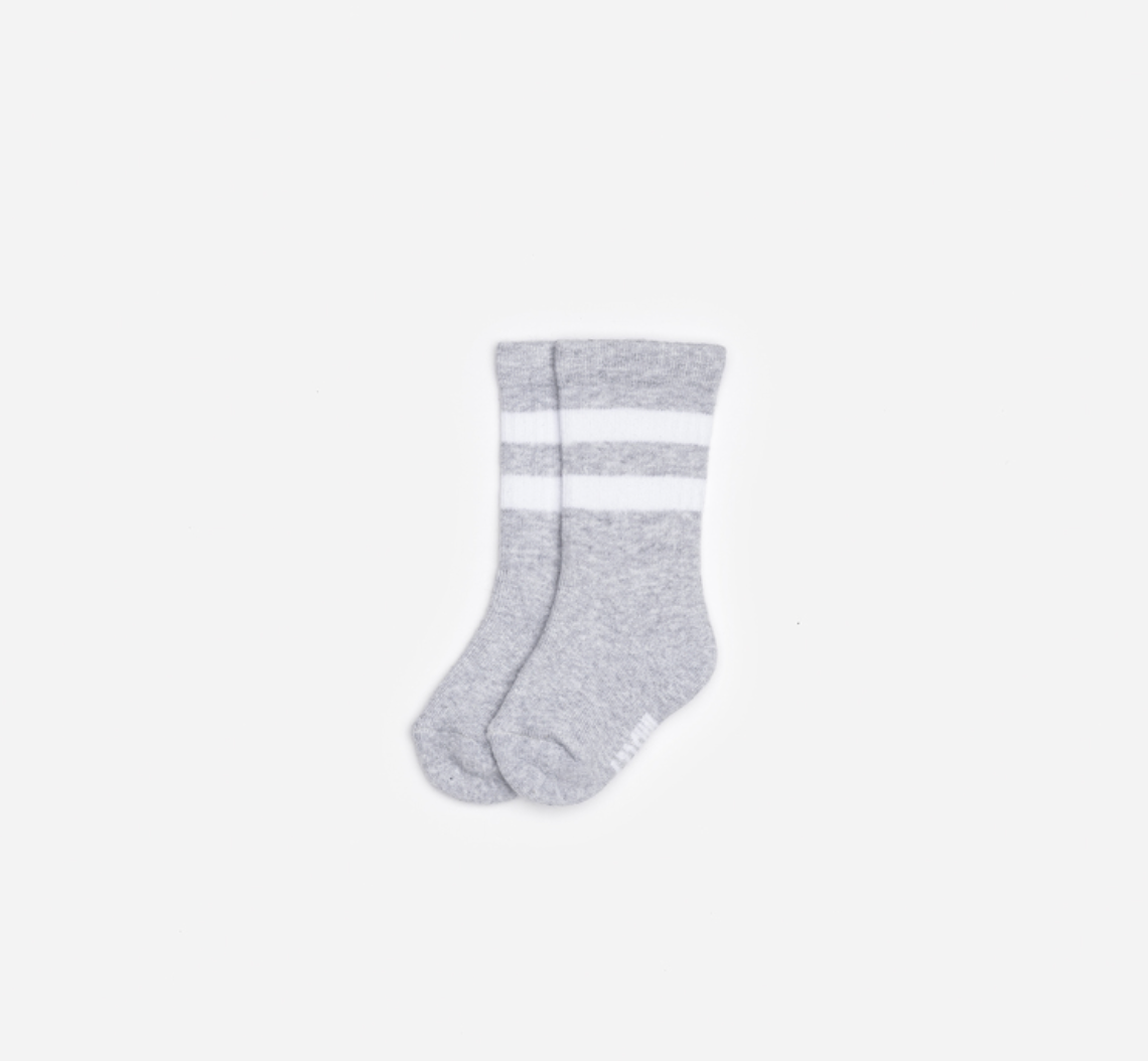 Grey Baby Tube Socks