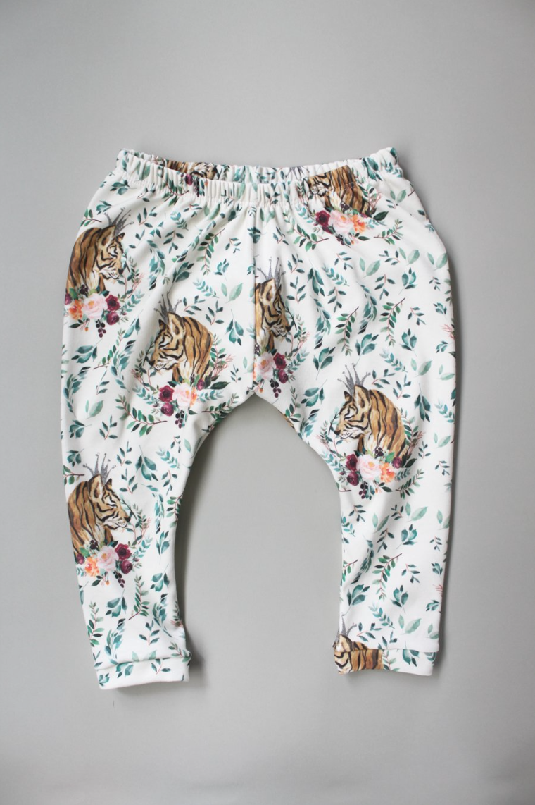Tiger Leggings - LAST ONE 12-18 months