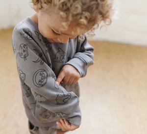 Animal Sweatshirt - LAST ONE 18-24 months