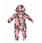 Pink Cat Overall