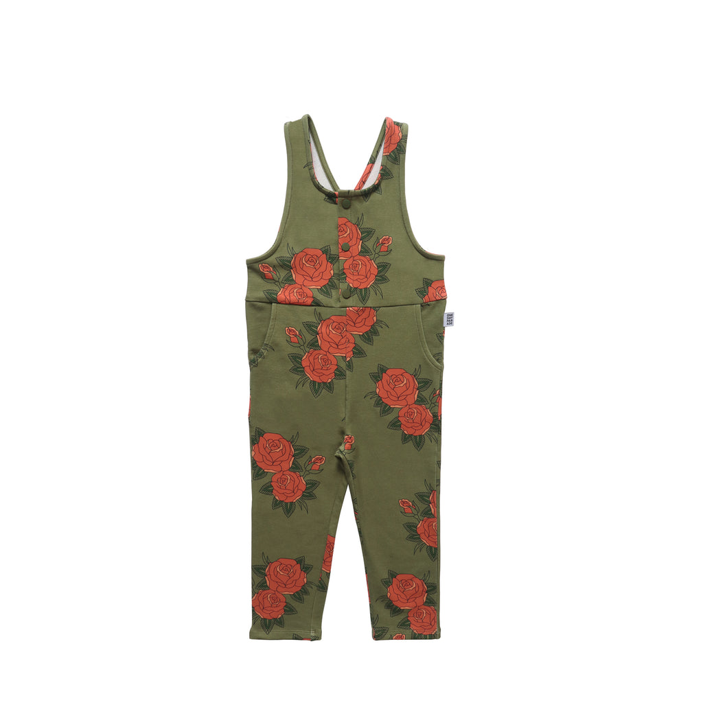 Roses Green Dungarees