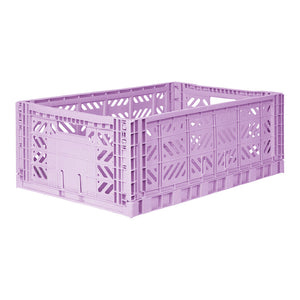 Folding Storage Crate ○ Maxi Orchid