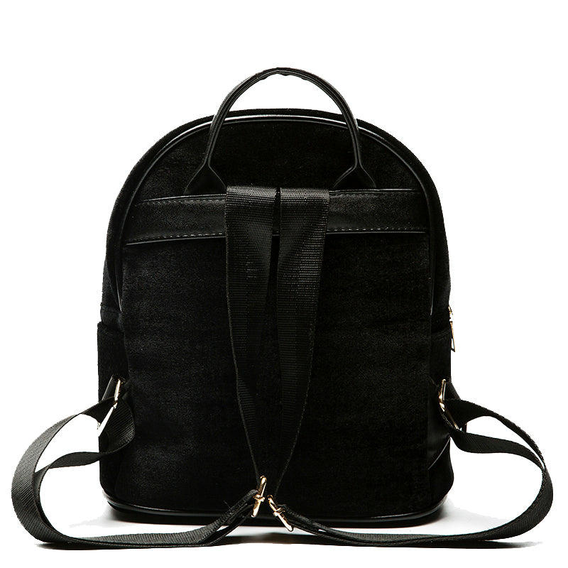 Velvet Backpack in Black