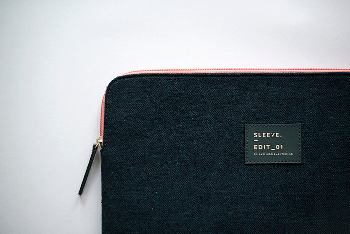 Canvas Tablet Sleeve