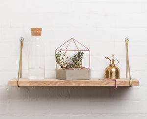 Copper House Plant Holder