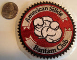 ASBC 3x3inch embroidered patch American Silkie Bantam Club