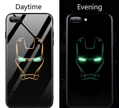 Marvel/DC Luminous Glowing Glass Case