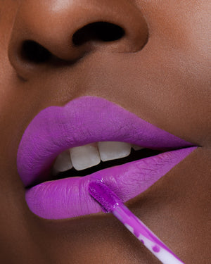 Purple Matte Lipstick