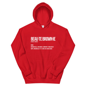 Beauté Brownie Definition Hoodie