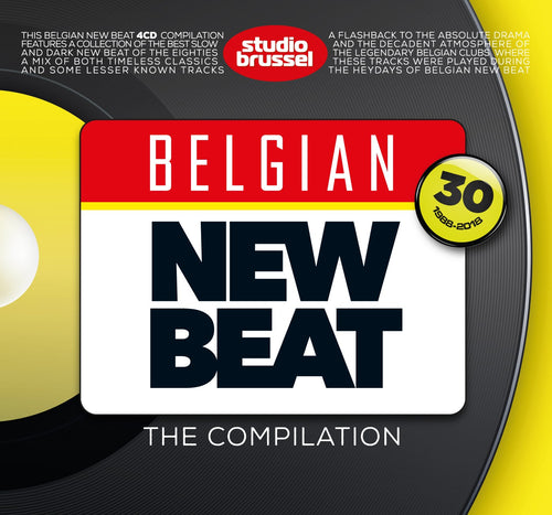 Belgian New Beat 4CD Volume 1