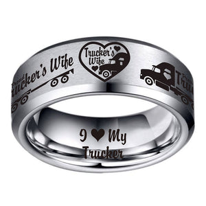 Today Only 70% Off 😍  Trucker's Wife Titanium Ring  ⭐️⭐️⭐️⭐️⭐️Reviews