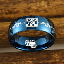 💙  Today Only 60% Off  Free Bracelet w/Purch Back The Blue USA 🇺🇸  Titanium Ring 😲 ⭐️⭐️⭐️⭐️⭐️  Reviews
