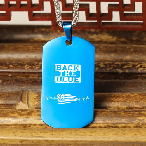 Back The Blue USA Necklace 🇺🇸  Today Only 60% Off 😍