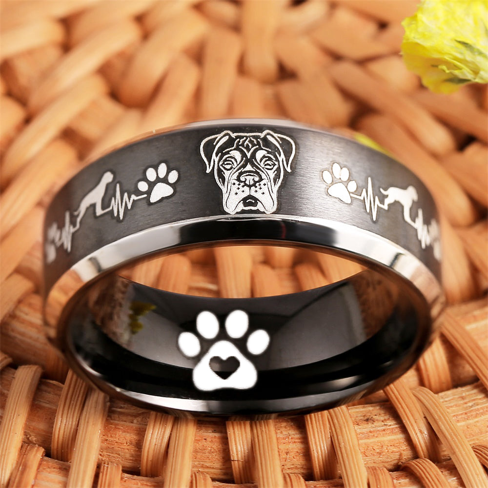 Today Only 70% Off 😍 Boxer Lover Titanium Ring  ⭐️⭐️⭐️⭐️⭐️ Reviews