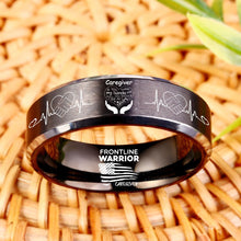 Today Only 60% Off 😍  Free Bracelet W/Purch! Caregiver Titanium Ring  ⭐️⭐️⭐️⭐️⭐️  Reviews