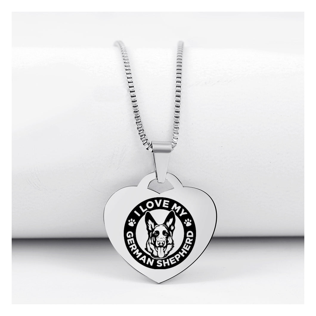 Today Only 60% Off 😍 German Shepherd Lover Necklace