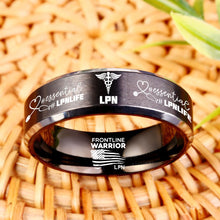 Today Only 60% Off 😍  Free Bracelet W/Purch! 🏥  LPN Titanium Ring  ⭐️⭐️⭐️⭐️⭐️  Reviews