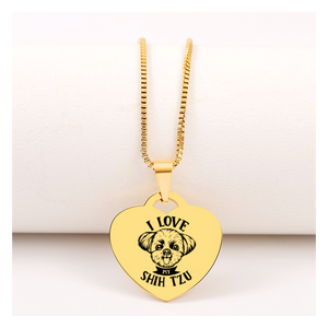 Today Only 60% Off 😍 Love My Shih Tzu Necklace