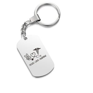 Today Only 50% Off 😍  Peace Love Nursing Keychain