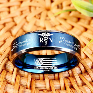 Today Only 60% Off 😍  Free Bracelet W/Purch! RN Life Titanium Ring  ⭐️⭐️⭐️⭐️⭐️  Reviews