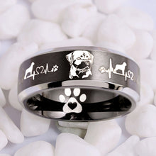 Today Only 60% Off  + FREE BRACELET with Purchase 😍 Rottweiler Lover Titanium Ring  ⭐️⭐️⭐️⭐️⭐️ Reviews
