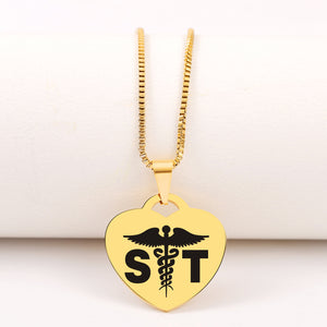 Today Only 60% Off 🏥  Surgical Tech Heart Pendant Necklace
