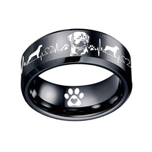 Today Only 70% Off 😍 Rottweiler Lover Titanium Ring 🐶 ⭐️⭐️⭐️⭐️⭐️ Reviews