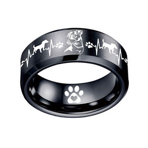 Today Only 70% Off 😍 Jack Russell Titanium Ring ⭐️⭐️⭐️⭐️⭐️ Reviews