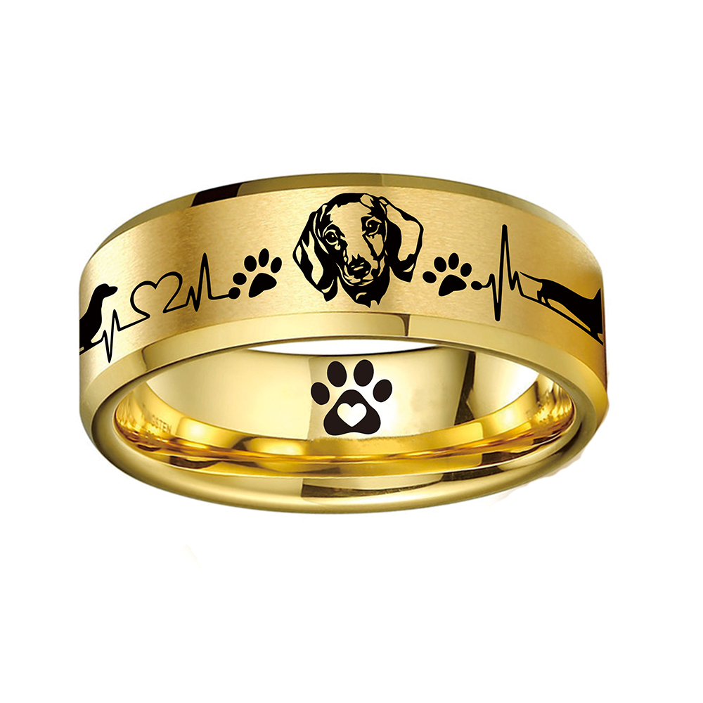 Today Only 70% Off 😍 Dachshund Lover Titanium Ring ⭐️⭐️⭐️⭐️⭐️ Reviews