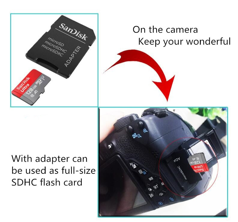 Memory Card for VR CAM WiFi Indoor Security Surveillance Camera