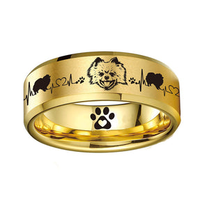 Today Only 70% Off 😍 Pomeranian Lover Titanium Ring ⭐️⭐️⭐️⭐️⭐️ Reviews