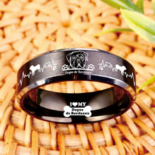 Today Only 60% Off 😍 FREE Bracelet w/ Purchase 🐕 Dogue Lover Titanium Ring ⭐️⭐️⭐️⭐️⭐️ Reviews