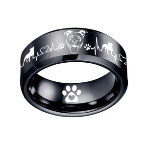 Today Only 70% Off 😍 Pit Bull Lover 🐶 Titanium Ring ⭐️⭐️⭐️⭐️⭐️ Reviews