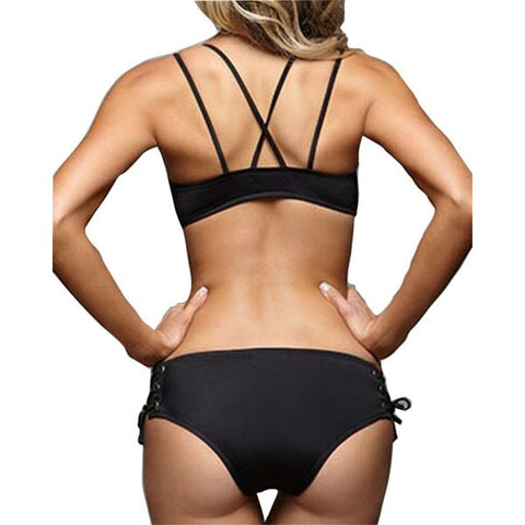 Adjustable Sexy Bandage Swimwear Swimsuit