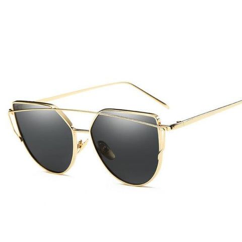 Stylish Cat Eye Sun Glasses Sunglasses For Women B / Store Sunglasses