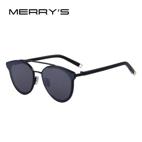 Super Stylish Cat Eye Sunglasses For Women C01 Black Sunglasses