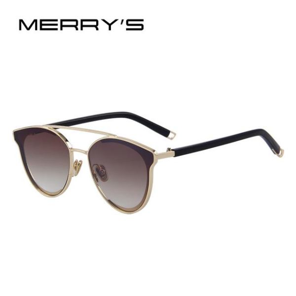 Super Stylish Cat Eye Sunglasses For Women C04 Brown Sunglasses