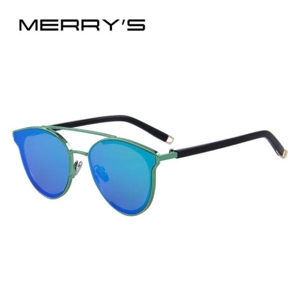 Super Stylish Cat Eye Sunglasses For Women C06 Green Sunglasses