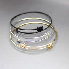 Stylish Arrow Bangle Bracelet