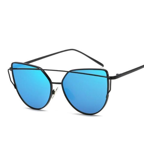 Stylish Cat Eye Sun Glasses Sunglasses For Women J / Store Sunglasses